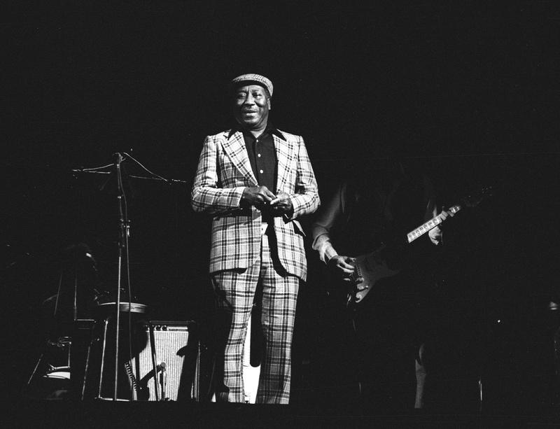 Muddy Waters, Glasgow Apollo 24th November 1978 ©marc marnie